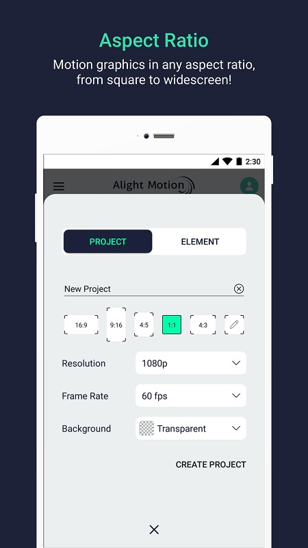 Alight Motion mod android