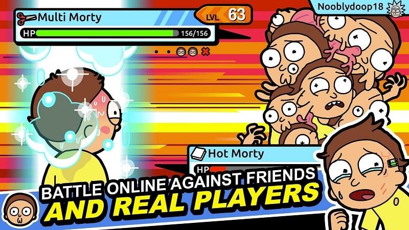 Rick and Morty Pocket Mortys mod apk