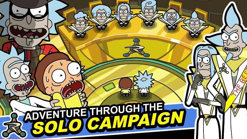 Rick and Morty Pocket Mortys mod free