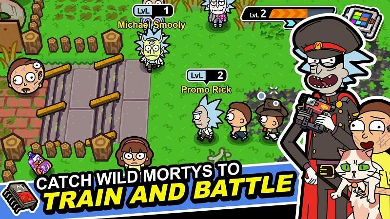 Rick and Morty Pocket Mortys mod