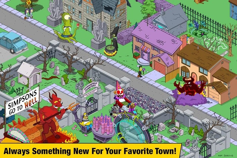 The Simpsons Tapped Out mod android