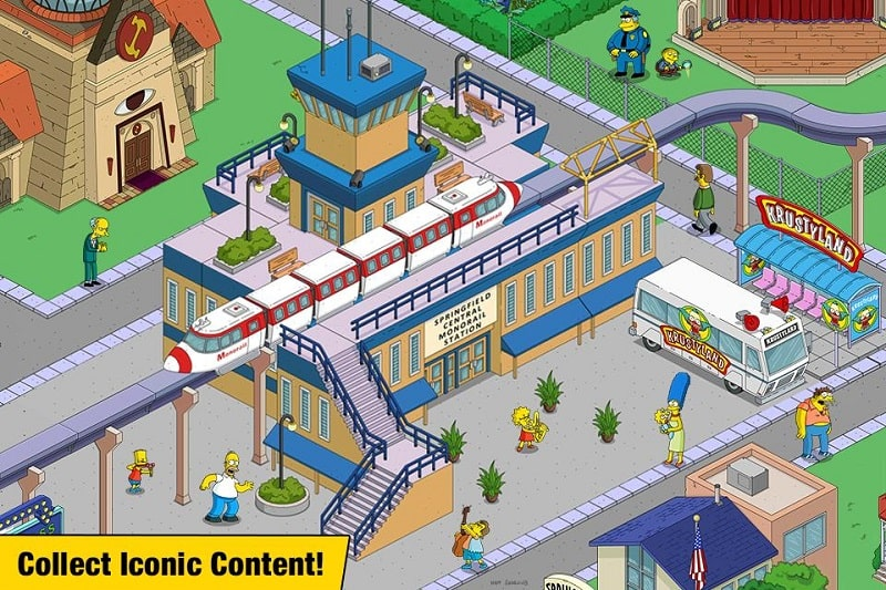 The Simpsons Tapped Out mod free