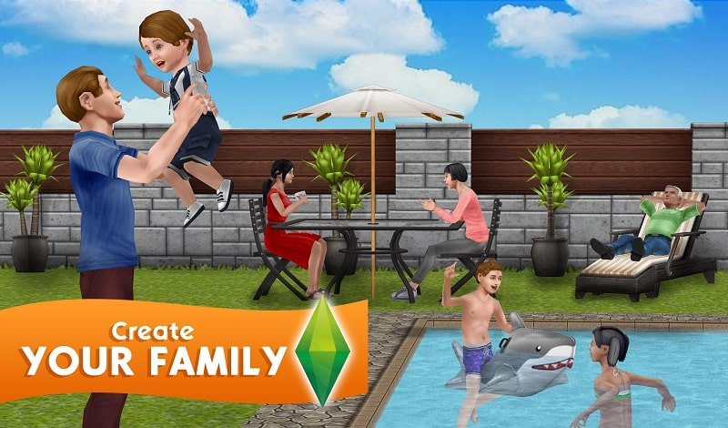 The Sims FreePlay mod android