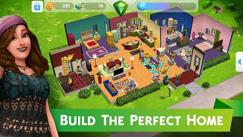The Sims Mobile mod free
