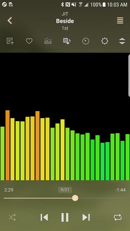jetAudio HD Music Player Plus mod android