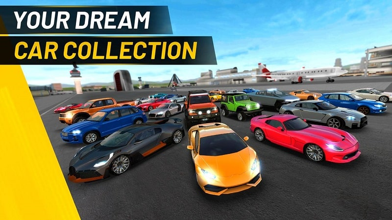 Extreme Car Driving Simulator mod android