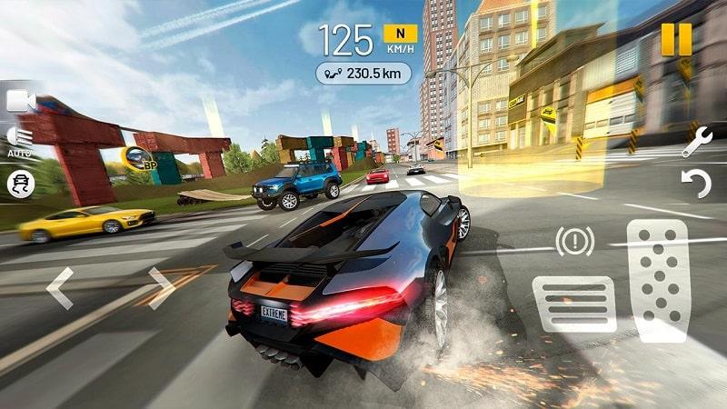 Extreme Car Driving Simulator mod