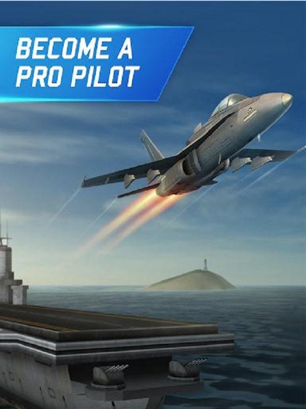 Flight Pilot Simulator 3D Free mod free