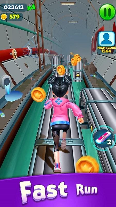 Subway Princess Runner mod download