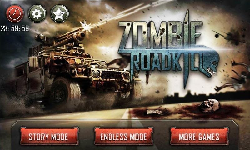 Zombie Roadkill 3D mod