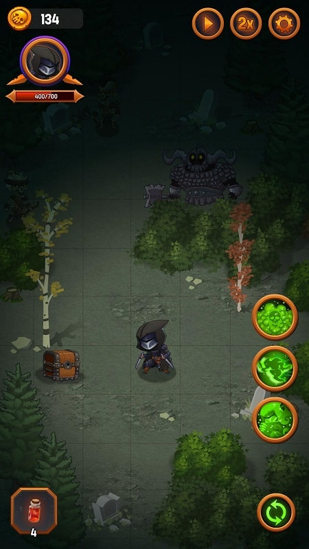 Dungeon Age of Heroes mod android
