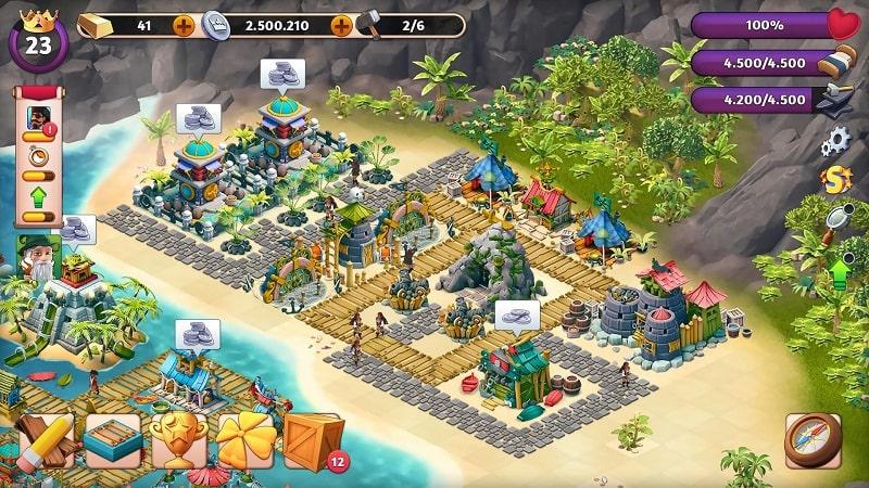 Fantasy Island Sim mod