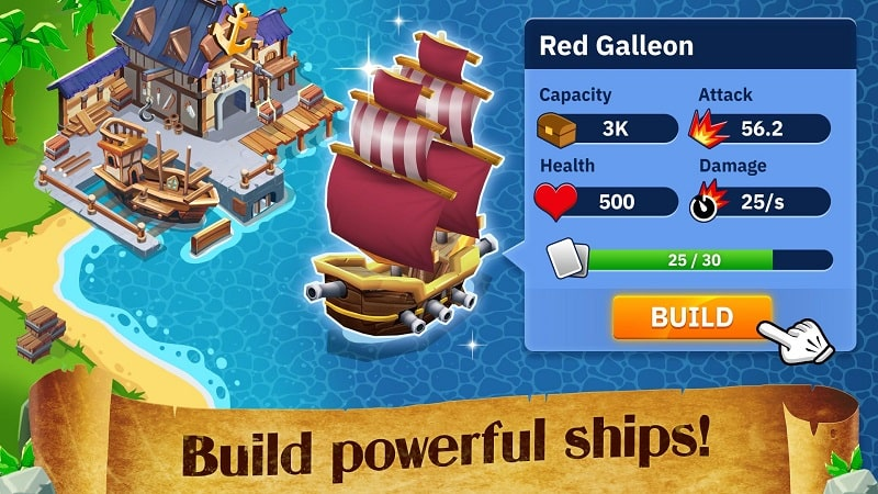 Idle Pirate Tycoon mod android